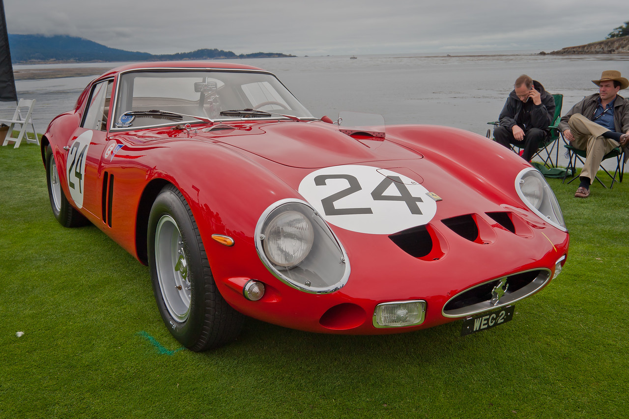 1963 Ferrari 250 GTO Scaglietti Berlinetta Chassis 4293GT, class winner at Spa, LeMans, Zolder and Reims. Most original GTO in existence