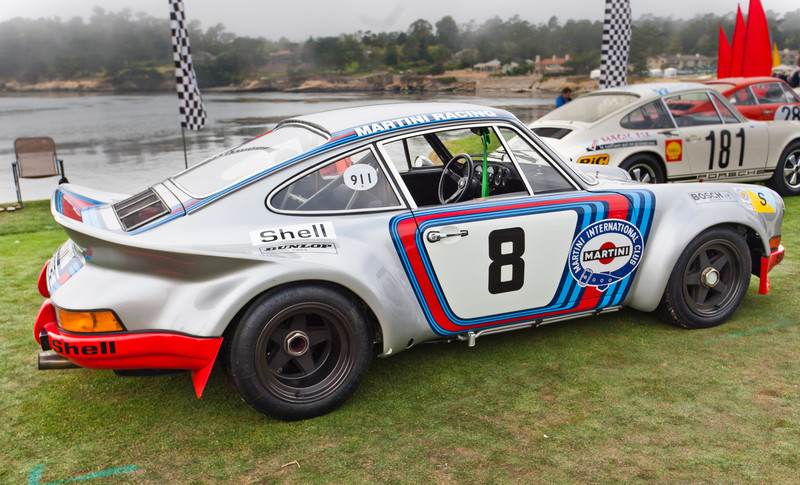 1973 Porsche 911 Carrera RSR, winner of 1973 Targa Florio and of GT Class at 24 Hrs of Le Mans
