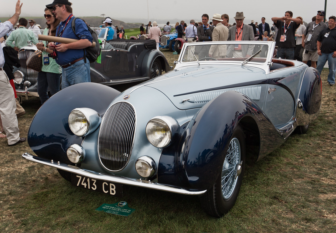 1938 Talbot-Lago 150C SS Figoni & Falaschi Cabriolet
