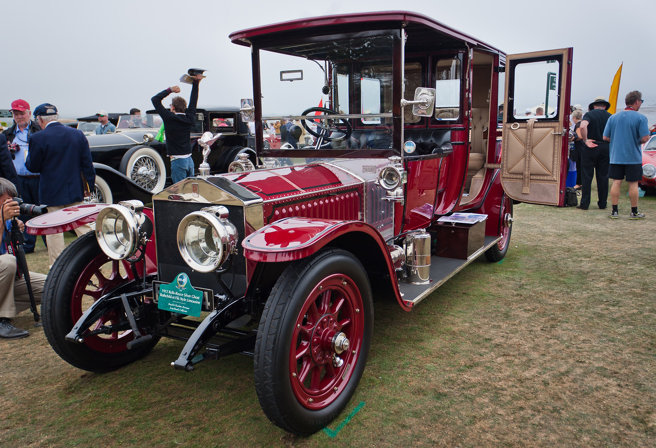1912 Rolls Royce Silver Ghost Rothchild et Fils-style Limousine
