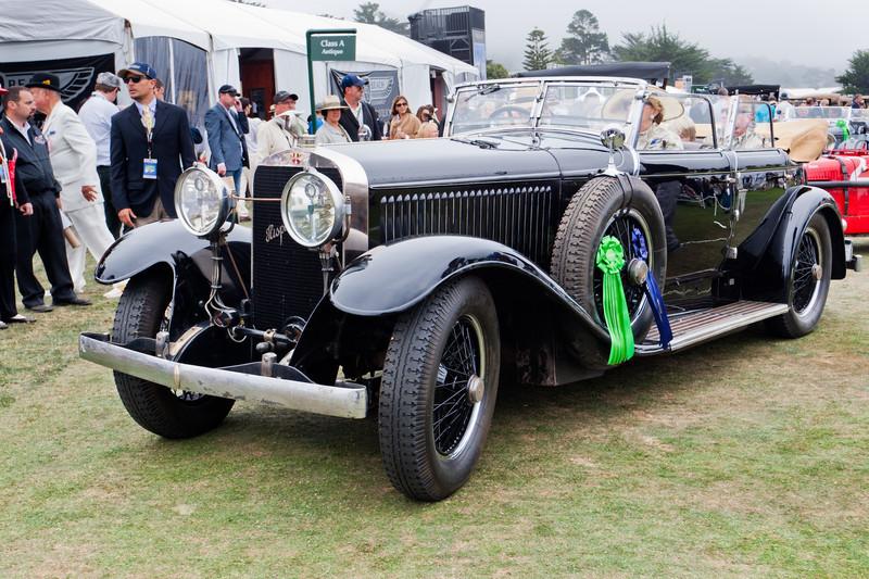 1933 Hispano Suiza J12 Binder Coupte de Ville--Nethercutt collection.