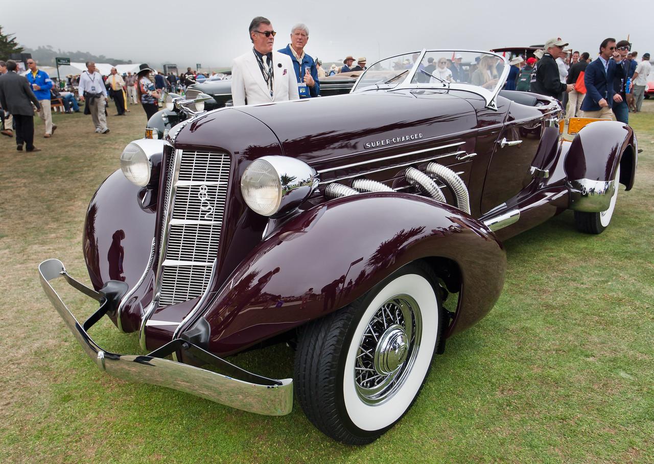 1936 Auburn 852 Supercharged Speedster