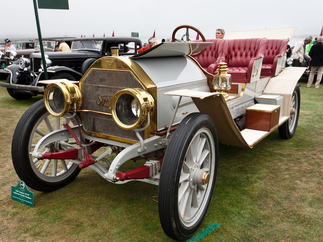 1909 Simplex 90 HP Holbrook Double Roadster