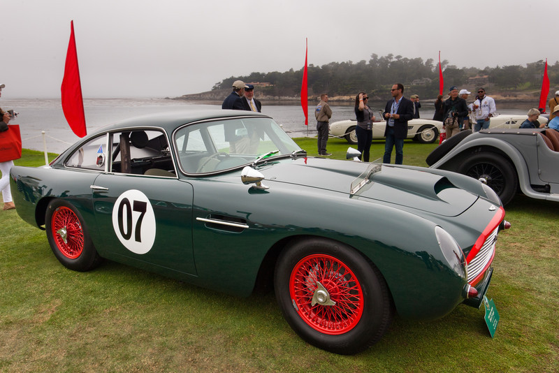 1960 Aston Martin DB4 GT Coupe