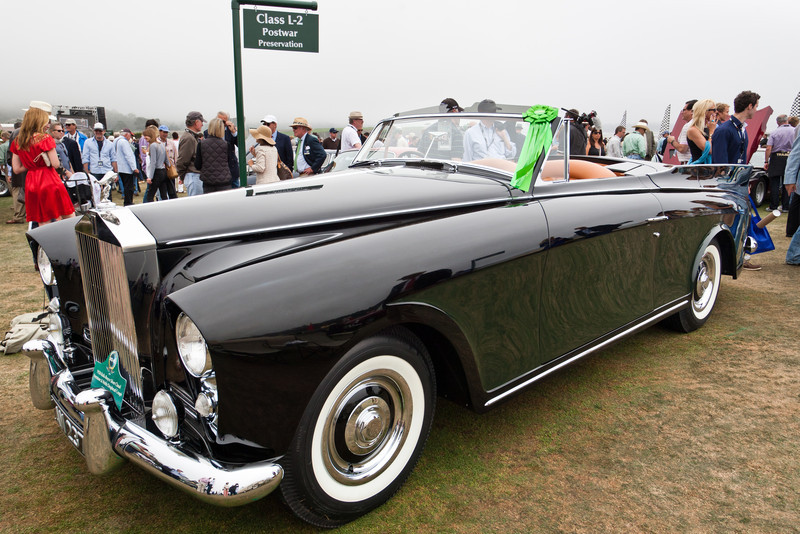 1958 Rolls Royce Silver Cloud Freestone & Webb Drophead Coupe