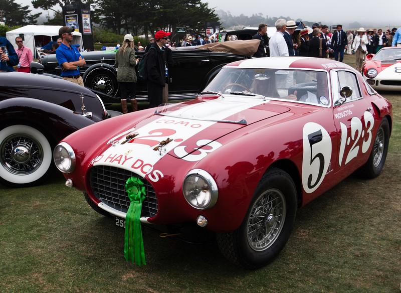 1953 Ferrari MM Pinin Farina Berlinetta -- owned by Nick Mason