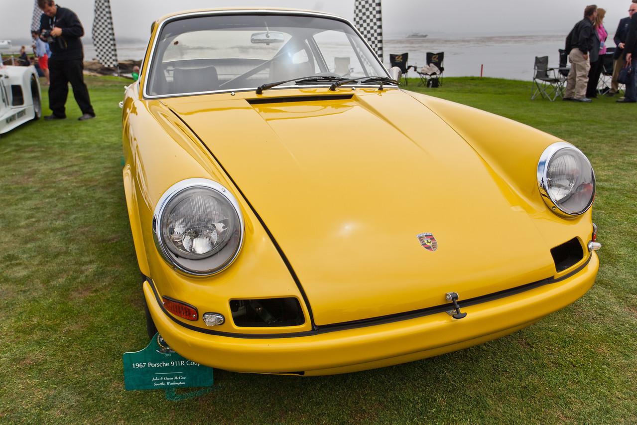 1967 Porsche 911 R s/n 307670/R4 the last of 4 prototypes to meet FIA homologation