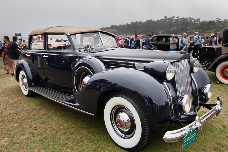 1938 Packard 1608 Twelve Brunn All Weather Cabriole