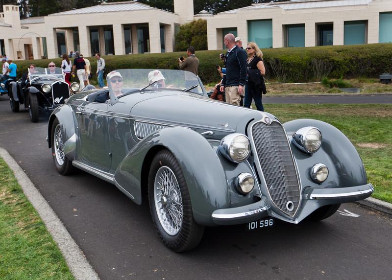 1938 Alfa Romeo 8C 2900 Lungo Touring Spider