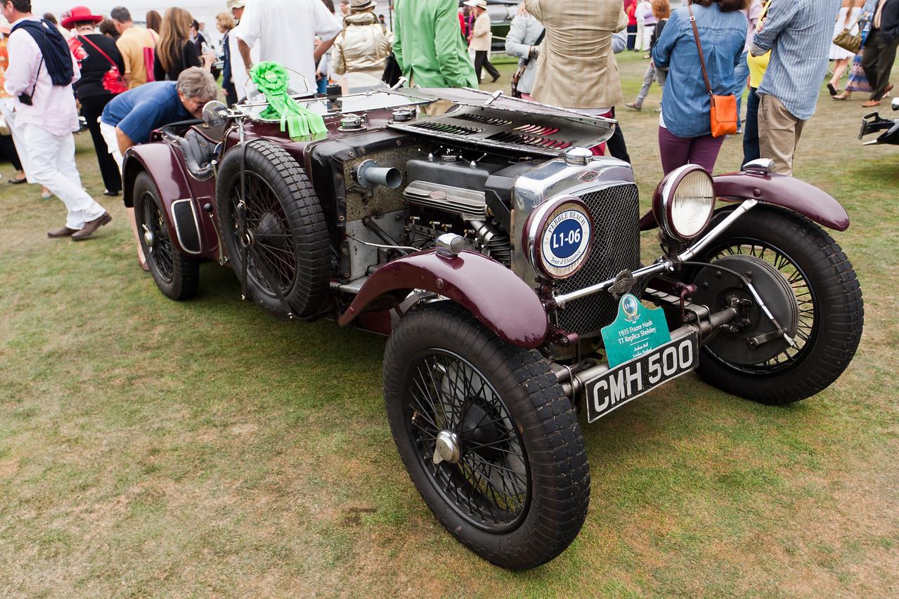1935 Frazer Nash TT Replica Shelsley racer.