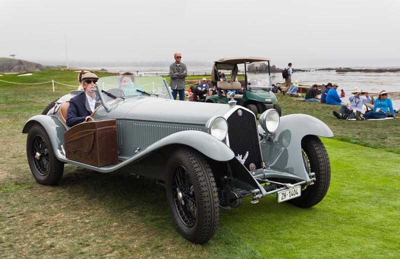 1932 Alfa Romeo 8C2300 Toruring Spider