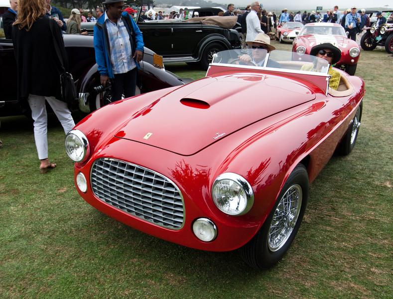 1951 Ferrari 212 Export Toouring Barchetta