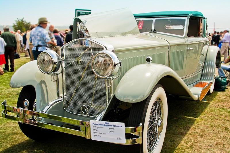 1930 5sotta Franschini Tipo 8A SS Castagna Cabriolet