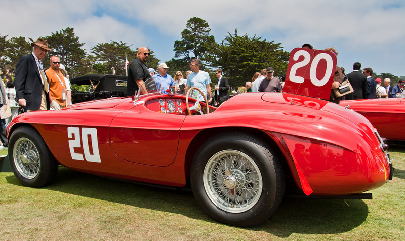 1949 Ferrari 166MM Barchetta Touring Jon Shirley