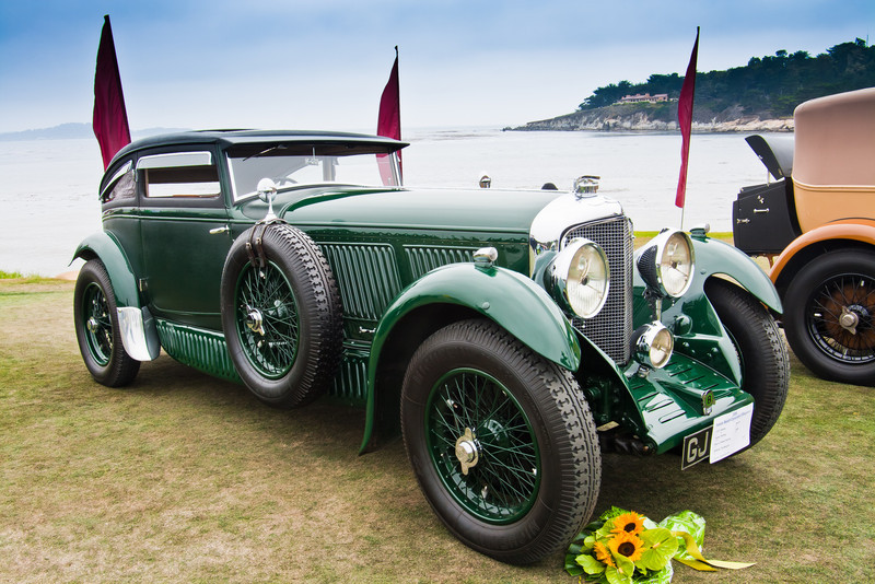 1930 Bently Speed 6 Coupe
