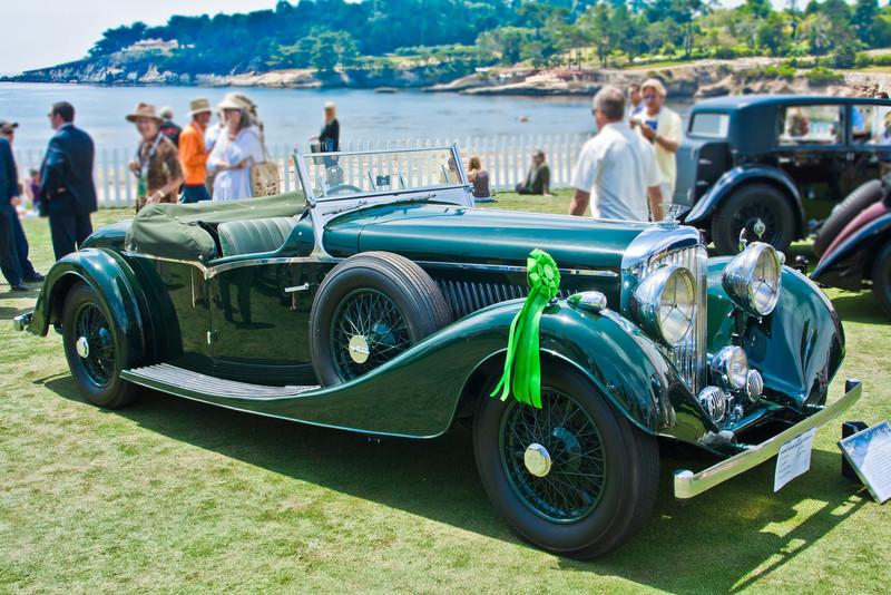 1936 Bently 4 liter Vanden Plas Tourer
