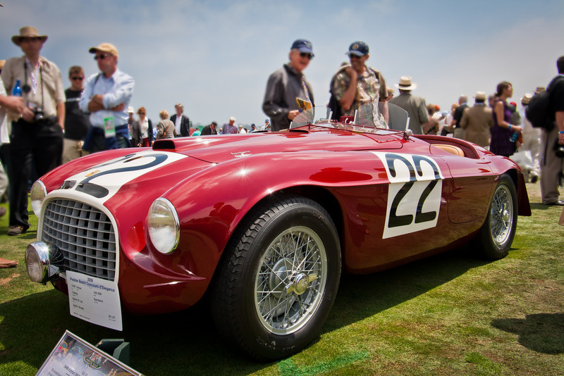 1949 Ferrari 166MM Barchetta Touring