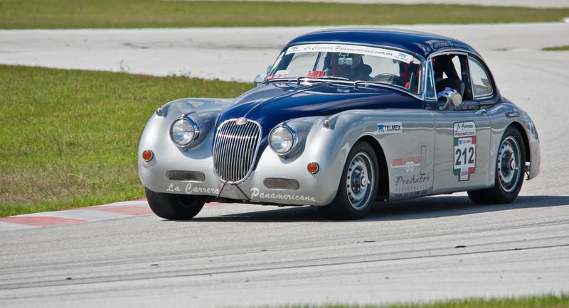 Predator Performance 1958 Jaguar XK150 LaCarrera PanAmericana Car