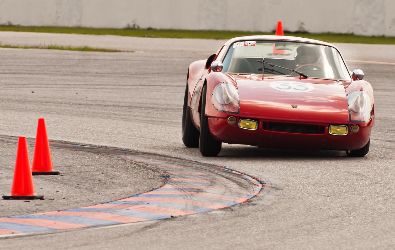 1964 Porsche 904 GTS cornering hard