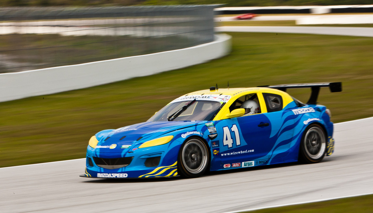 2010 ex-Dempsey Racing Mazda RX-8 GT