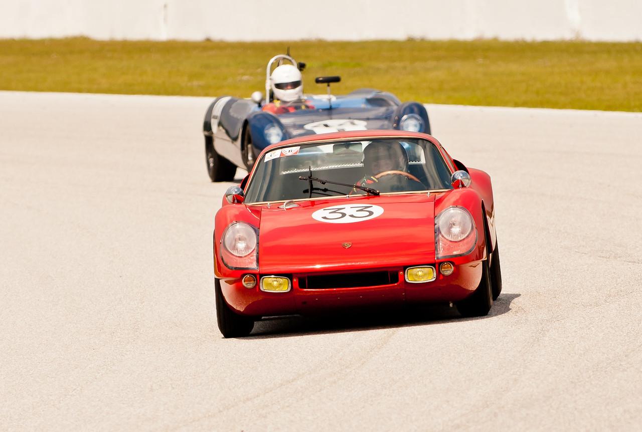 Porsche and Lotus