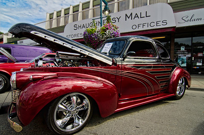This 1940 Chevy Coupe  is one of the best custom jobs I've ever seen.