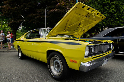 A 1972 Plymouth Duster