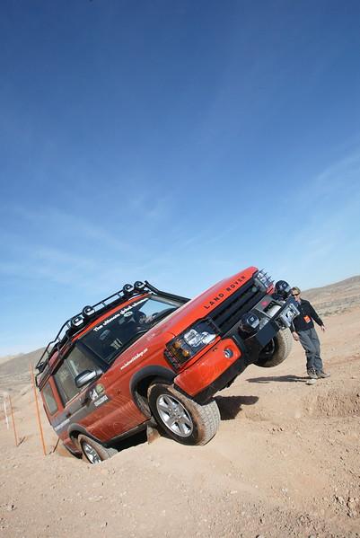 Land Rover G4 Action Shot 1
