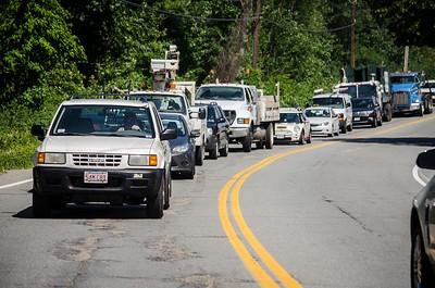 Car v. Telephone Pole Airport Road 7-6-16
