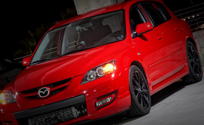 2007 Mazdaspeed 3 True-Red