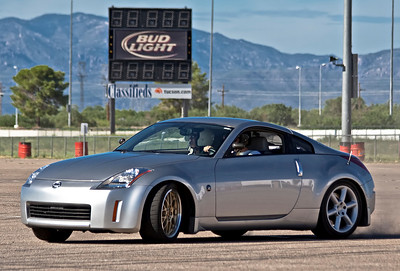 350Z Drift Day in Tucson
