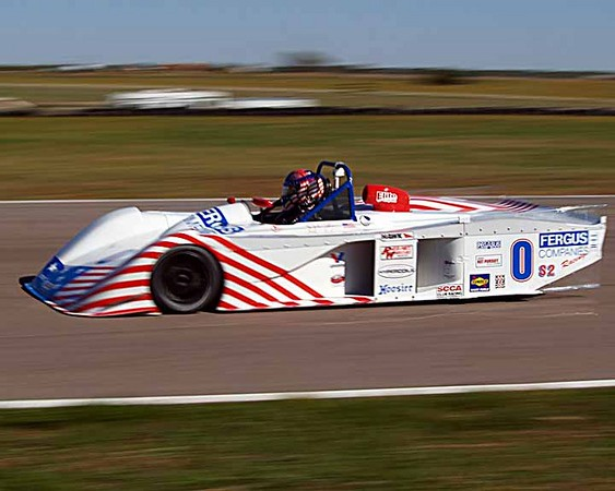 John Fergus II at the 2007 Runoffs