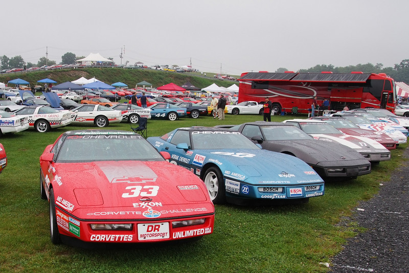 Corvette Challenge cars from 1988 and 1989
