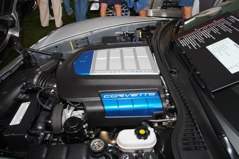 2009 Corvette ZR1 LS9 630 hp engine