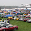 Carlisle show field. (In the rain...)