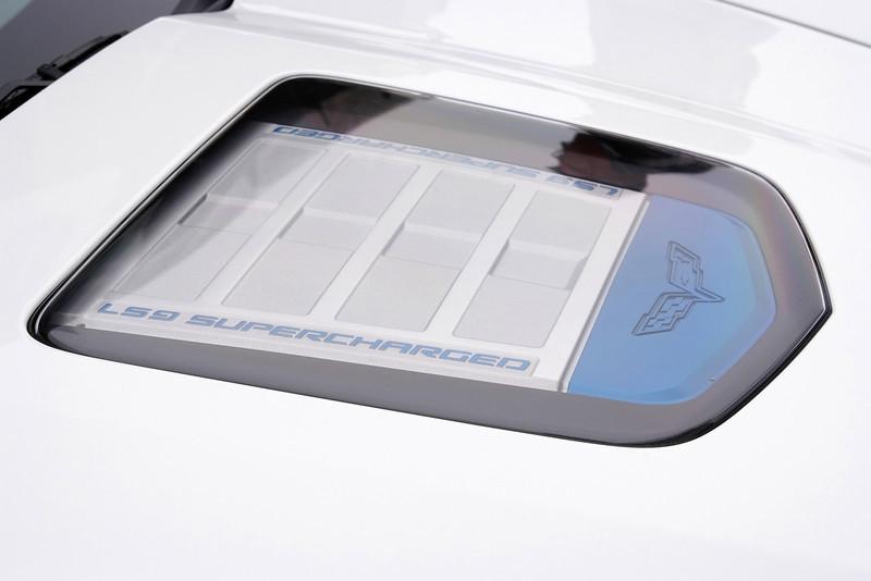 2009 Corvette ZR1 peek-a-boo hood...