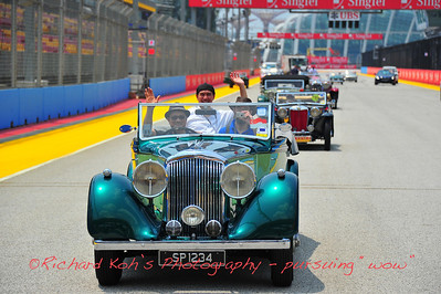 Vintage Cars at F1, Singapore