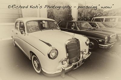 A classic Mercedes Benz