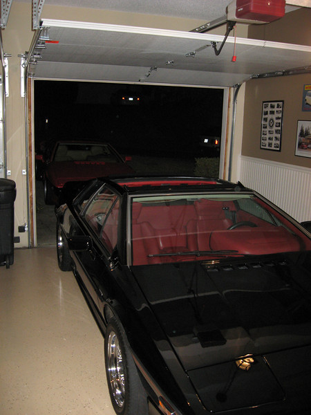 Adam B's immaculate garage and VERY shiny Esprit