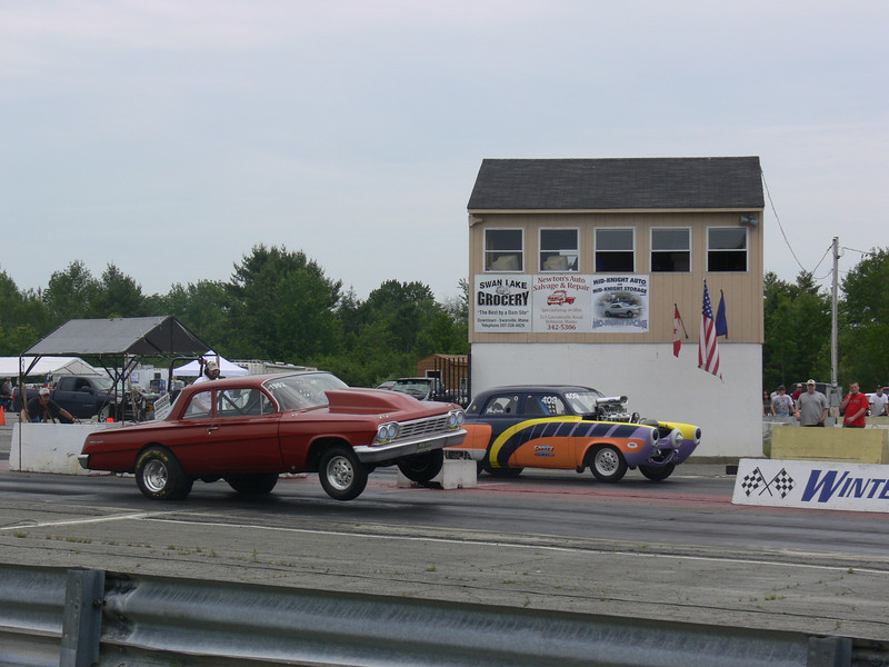 Winterport Dragway in Winterport, Maine United States