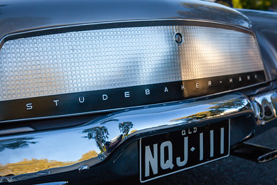 Studebaker Hawk - Cars & Coffee, Brisbane. Saturday 3 June 2017. Photos by Des Thureson - http://disci.smugmug.com