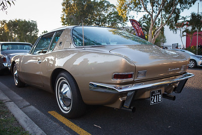 Qld Historic 2418 Avanti - Cars & Coffee, Brisbane. Saturday 3 June 2017. Photos by Des Thureson - http://disci.smugmug.com