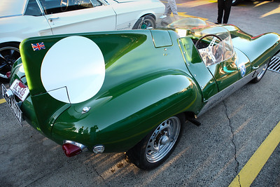 D Type Jaguar - Cars & Coffee, Brisbane. Saturday 3 June 2017. Photos by Des Thureson - http://disci.smugmug.com