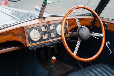 Riley Convertible Interior Dashboard