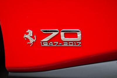 Brand New 2017 Ferrari 488GTB, Ferrari 488GTB, 70 Years, Ferrari 70 Years, 1947-2017