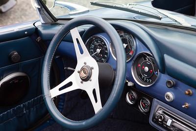 Classic Porsche Speedster Interior Dashboard
