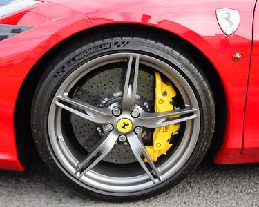 Ferrari 458 - Cars & Coffee, Brisbane. Saturday 6 August 2016. Photos by Des Thureson - http://disci.smugmug.com