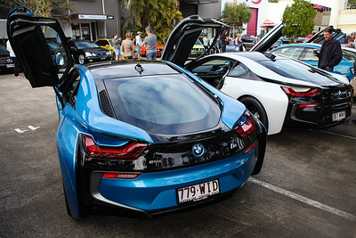 BMW i8 Hybrid - Cars & Coffee, Brisbane. Saturday 6 August 2016. Photos by Des Thureson - http://disci.smugmug.com