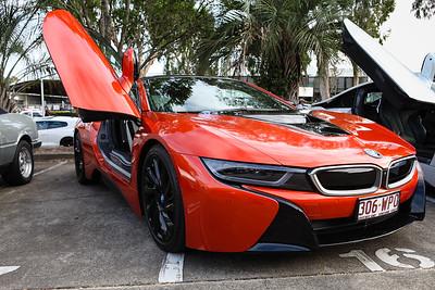 BMW i8 Hybrid - Cars & Coffee, Brisbane. Saturday 6 August 2016. Photos by Des Thureson - http://disci.smugmug.com