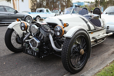 Morgan 3 Wheeler - Cars & Coffee, Brisbane. Saturday 6 August 2016. Photos by Des Thureson - http://disci.smugmug.com